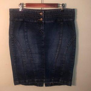 Torrid Jean skirt.